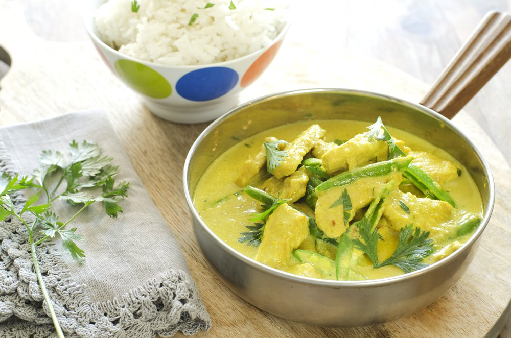 curry-med-kokosmelk-koriander-og-svinekjott