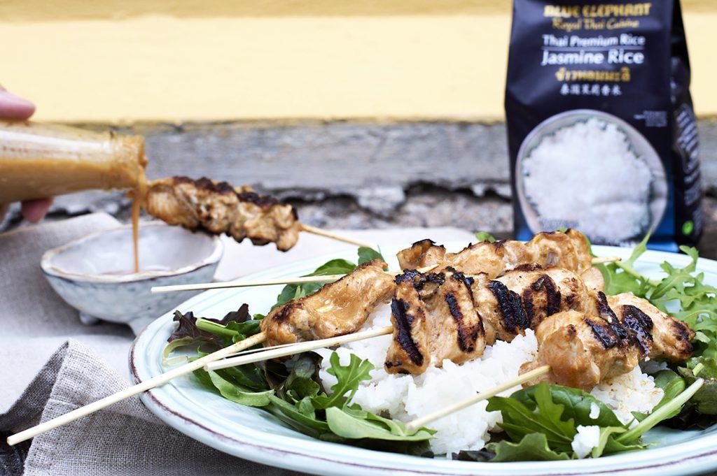 kyllingspyd-med-peanottsaus