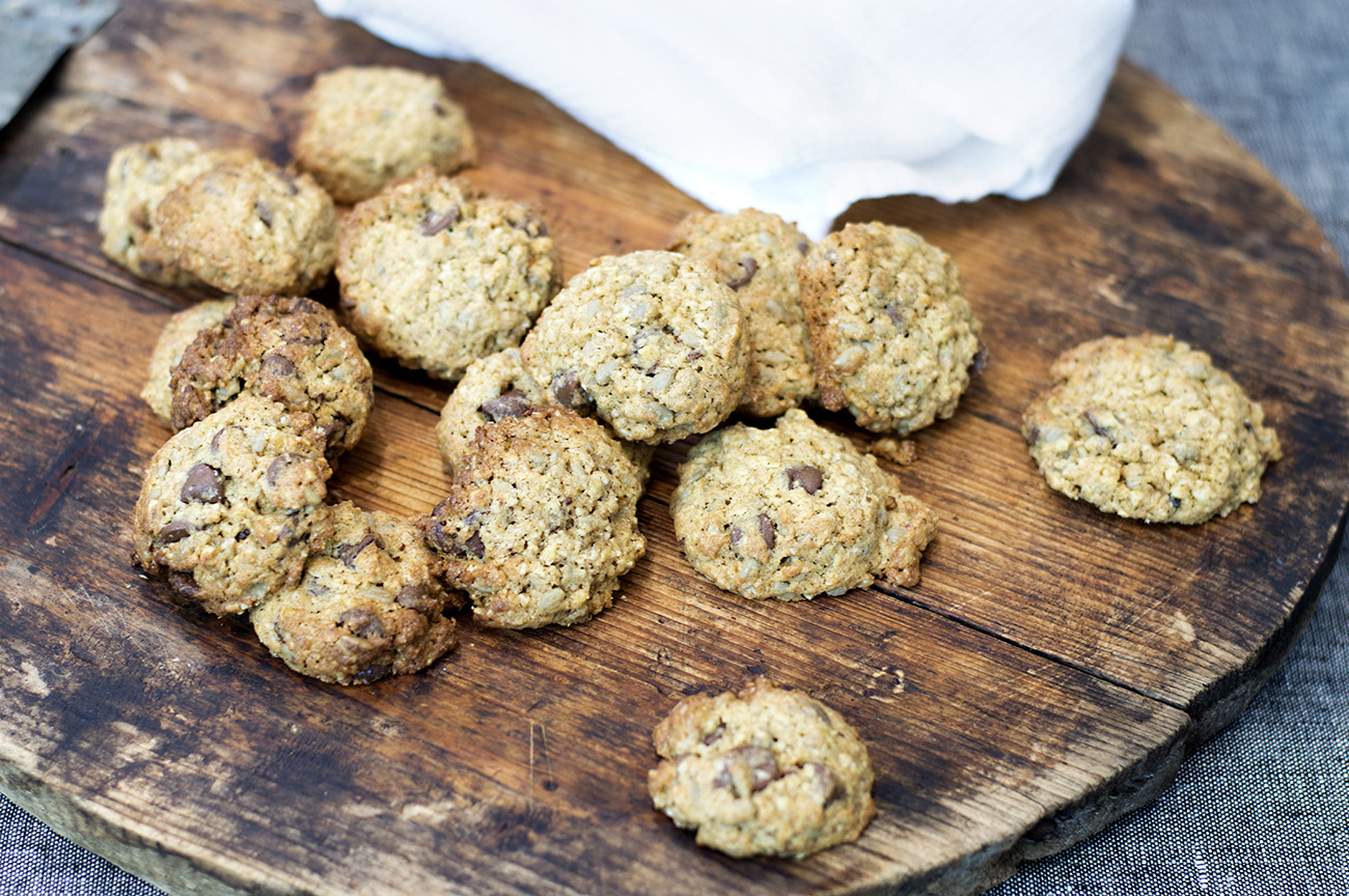 cookies-med-havregryn-og-solsikkekjerner
