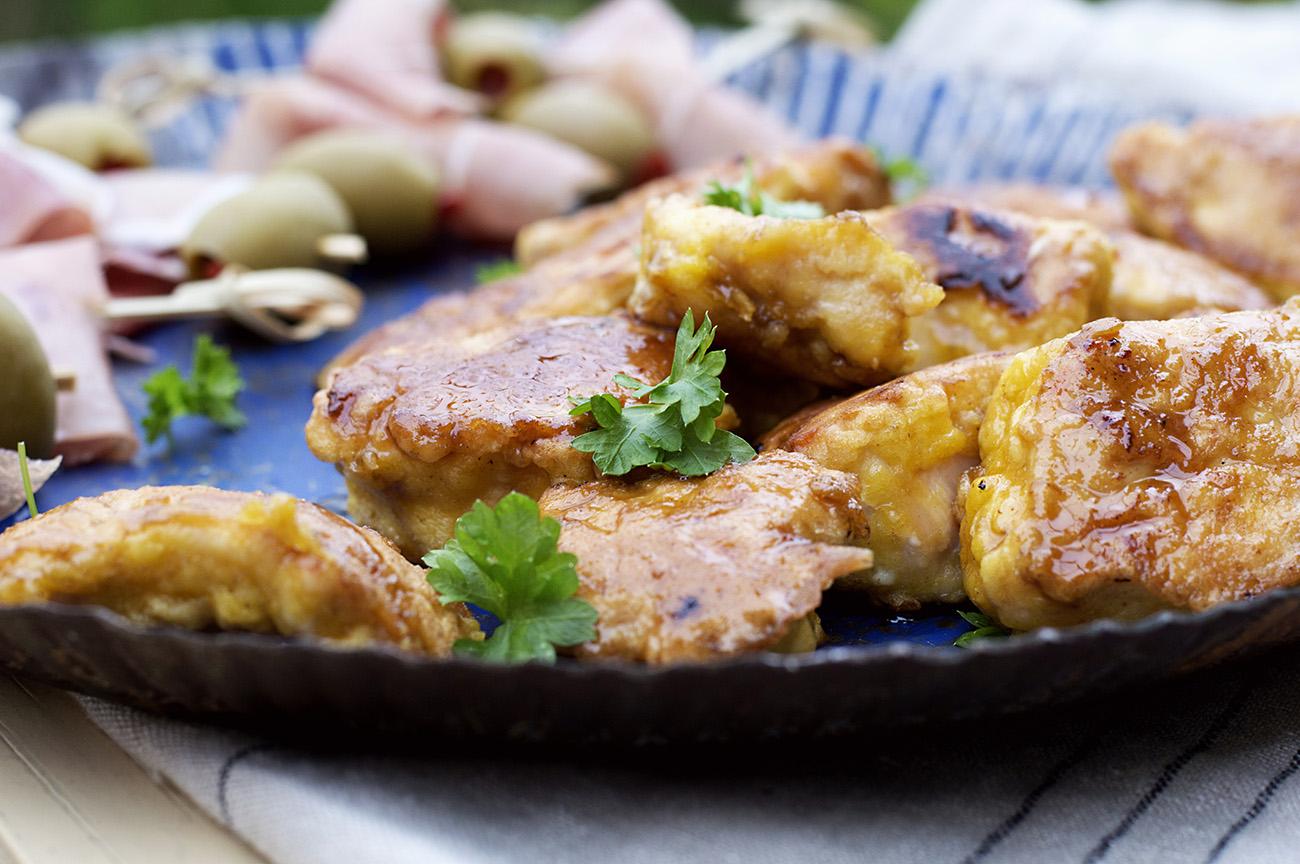kyllingbiter-med-honning-og-dijonsennep