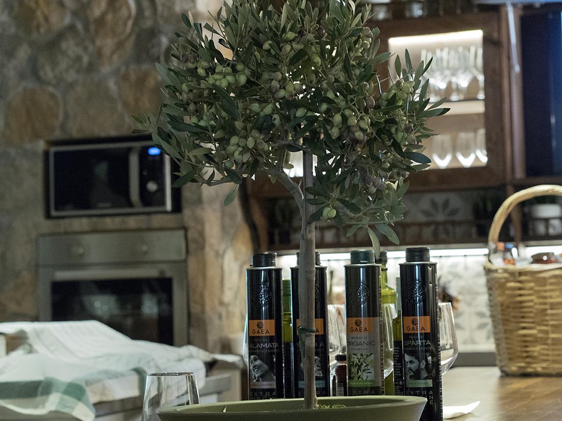 olivensmaking hos GAEA