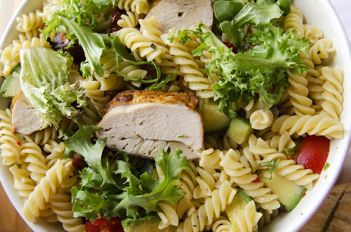 pastasalat-med-kylling