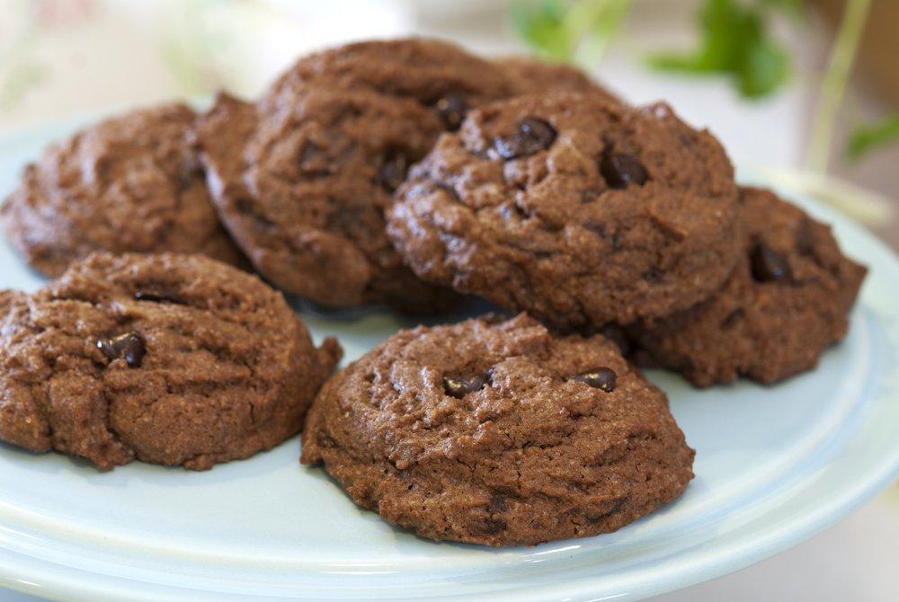 Mørke sjokoladecookies