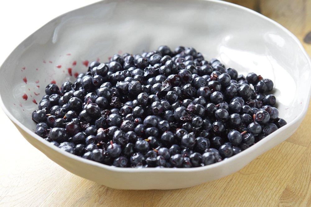 Deilig blåbærsyltetøy