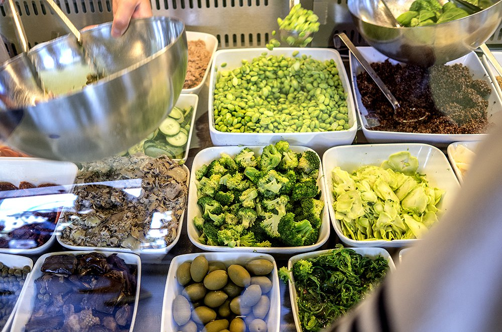 Superkul salatbar