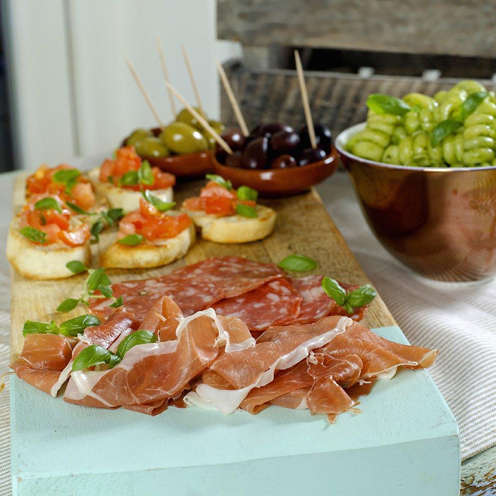 Italiensk snaddermat!