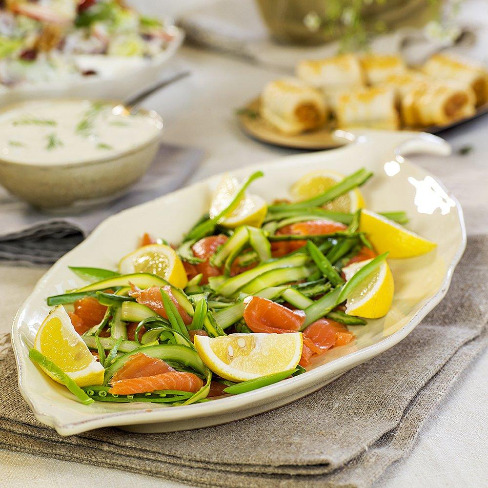 røkt-laks-med-asparges-og-sukkererter-2