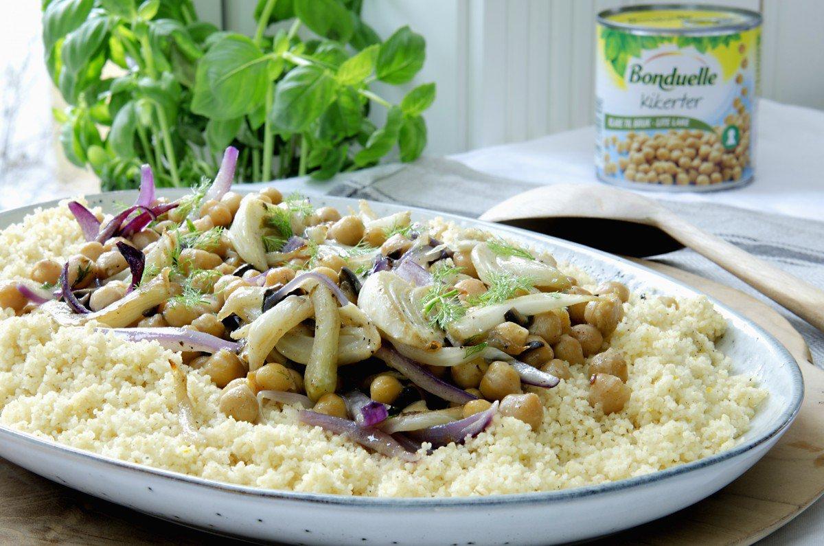 couscous med fennikel og kikerter 2