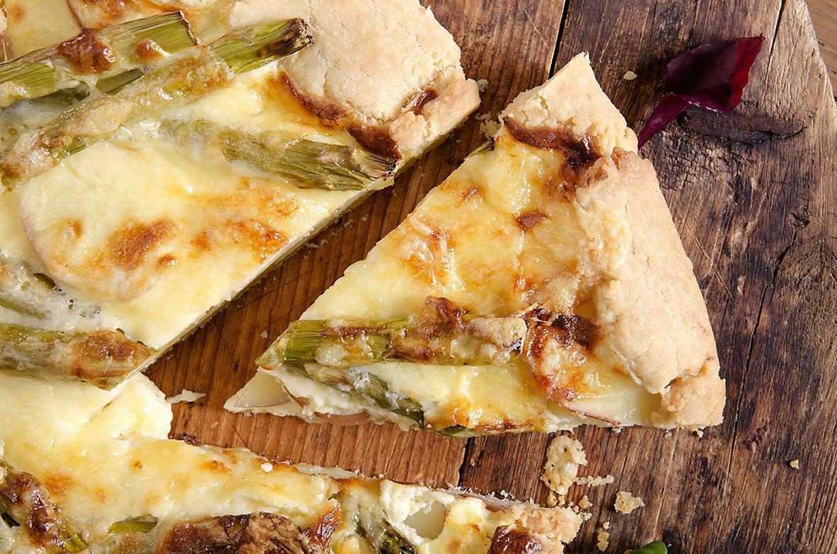 pai med poteter og asparges 2