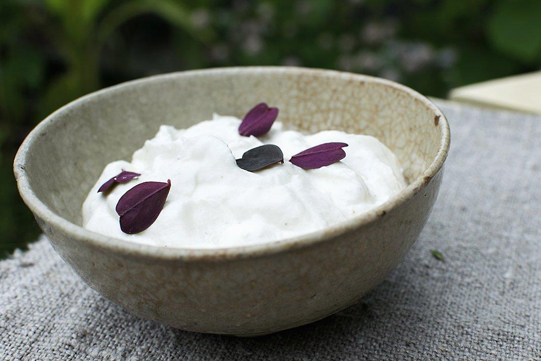 yoghurtdressing med sitron