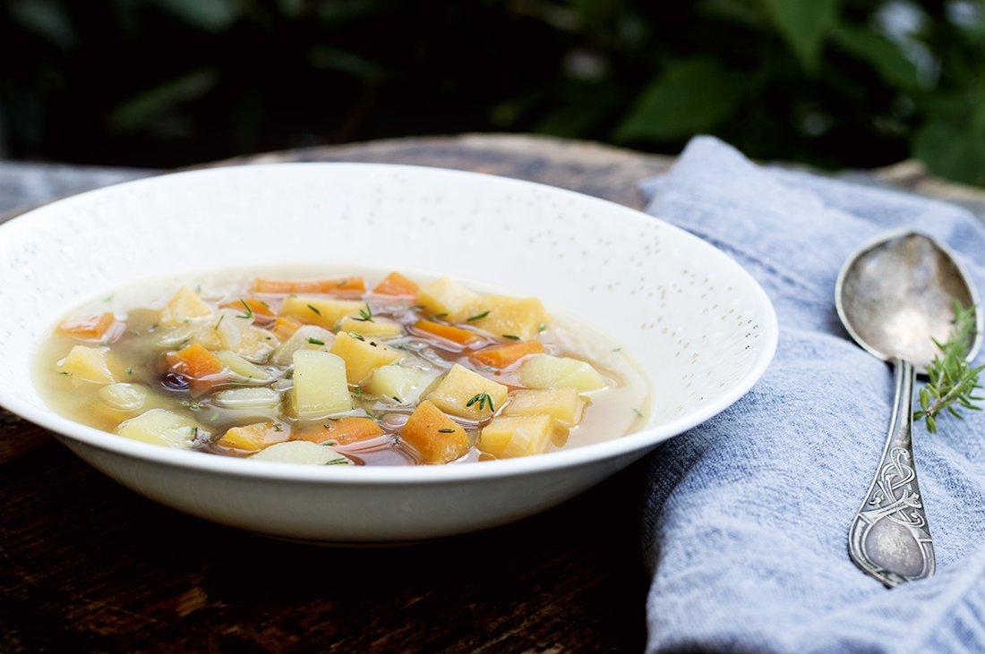lettvint grønnsakssuppe 2