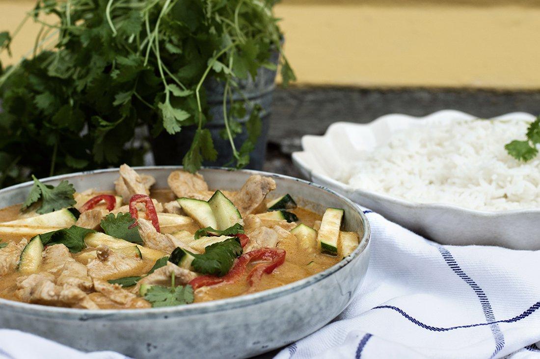 kylling med thailandske smaker
