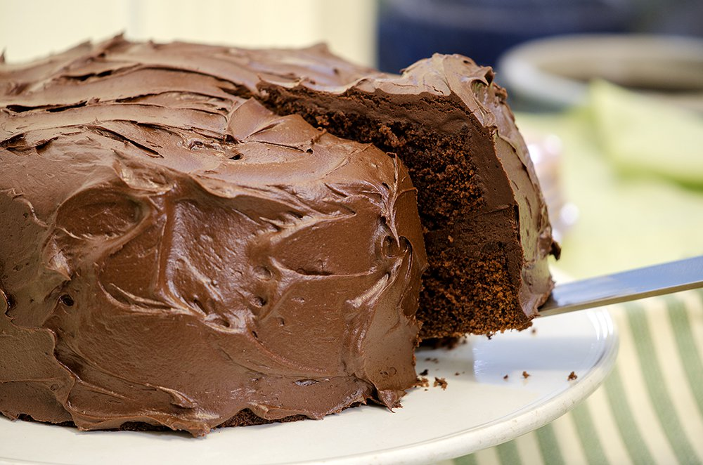 sjokoladekake glasur med kokesjokolade