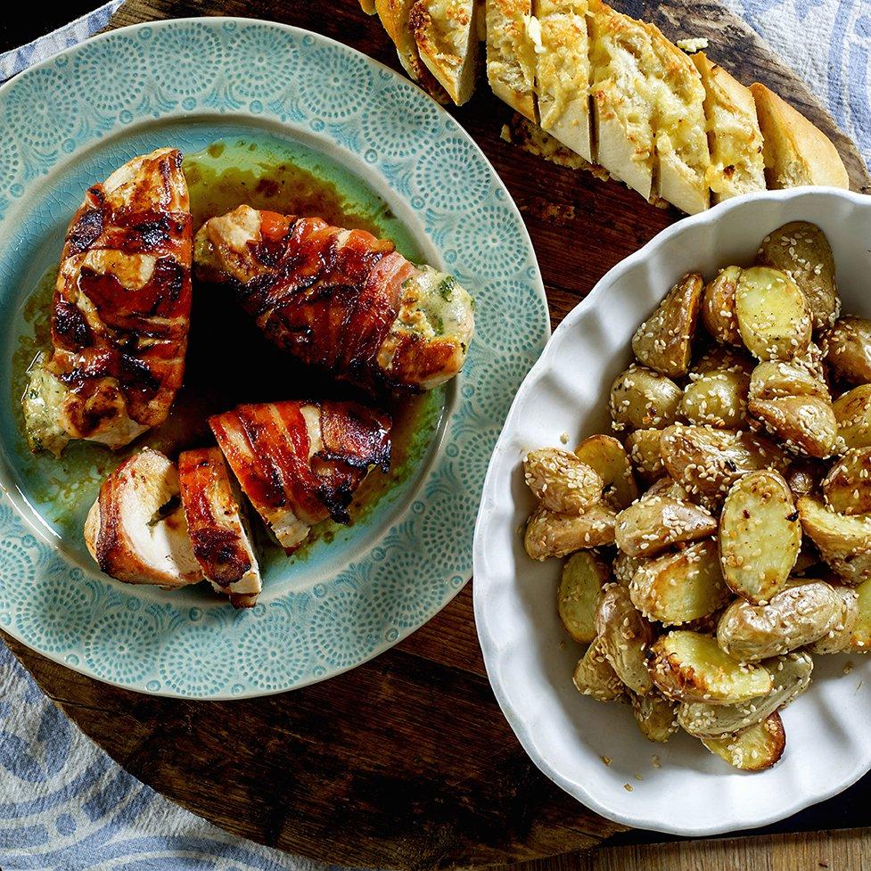 baconsurret-kylling-med-poteter