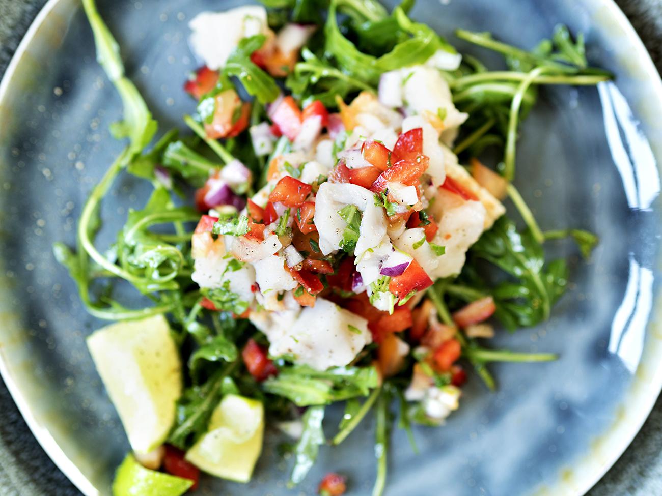 ceviche med torsk 2