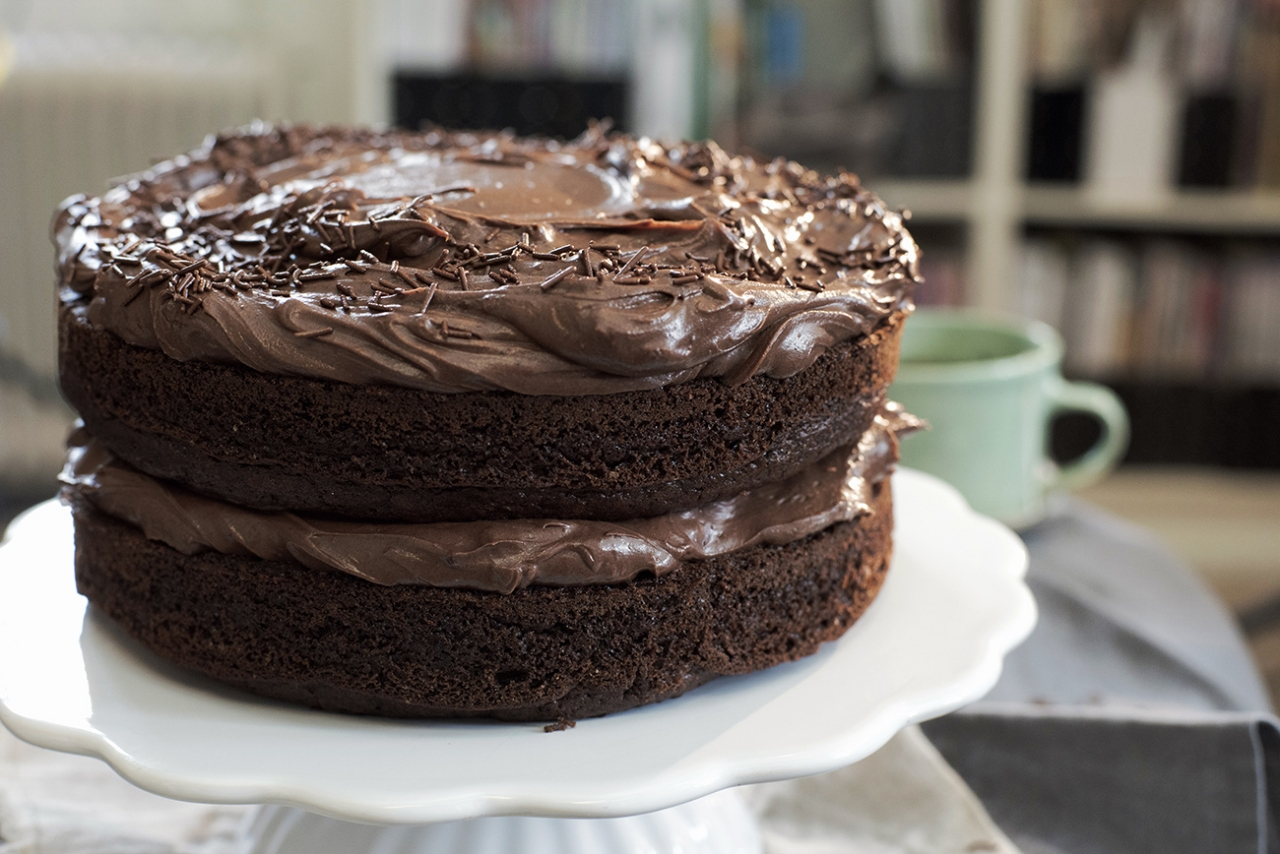 sjokoladekake uten sukker