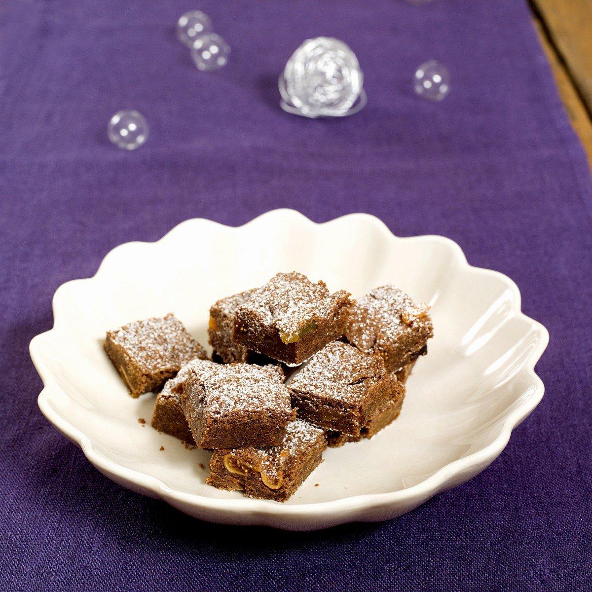 Brownies med julesmaker