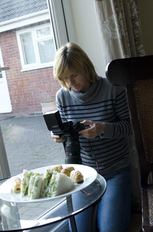 Fotodager i Manchester - jeg lager mat