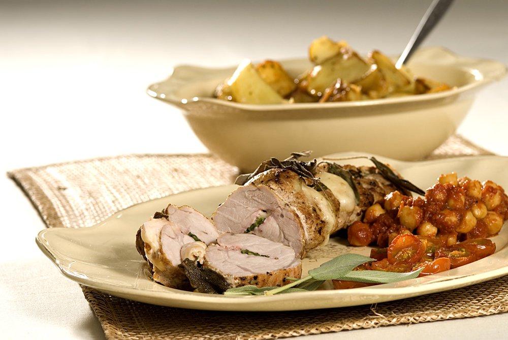 Fyll kjøttet med saftige godsaker