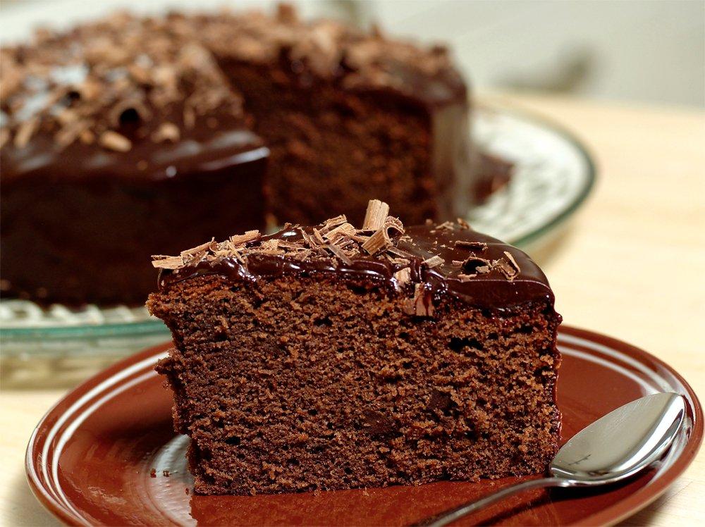 Skikkelig sjokoladekake med rødvin