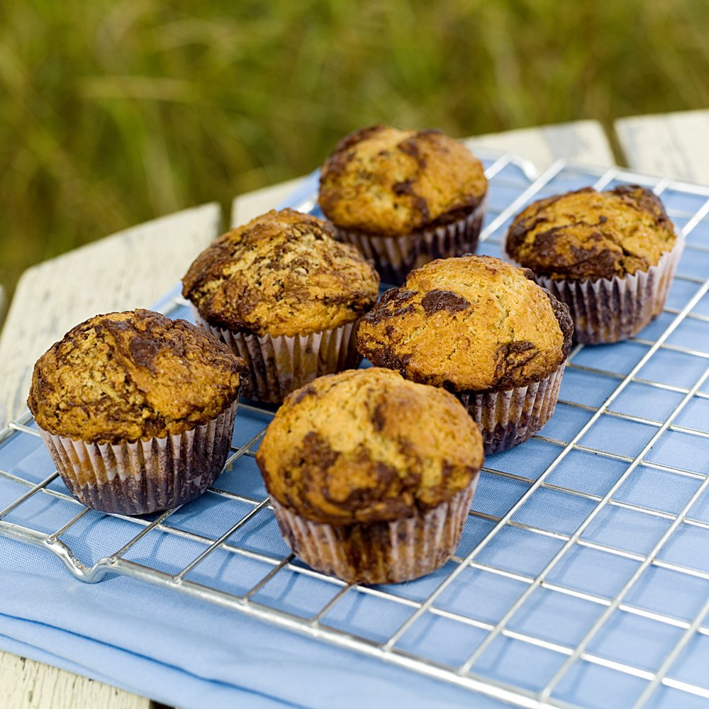 Marmorerte muffins