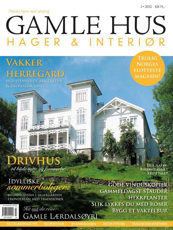 Gamle hus - hager og interiør