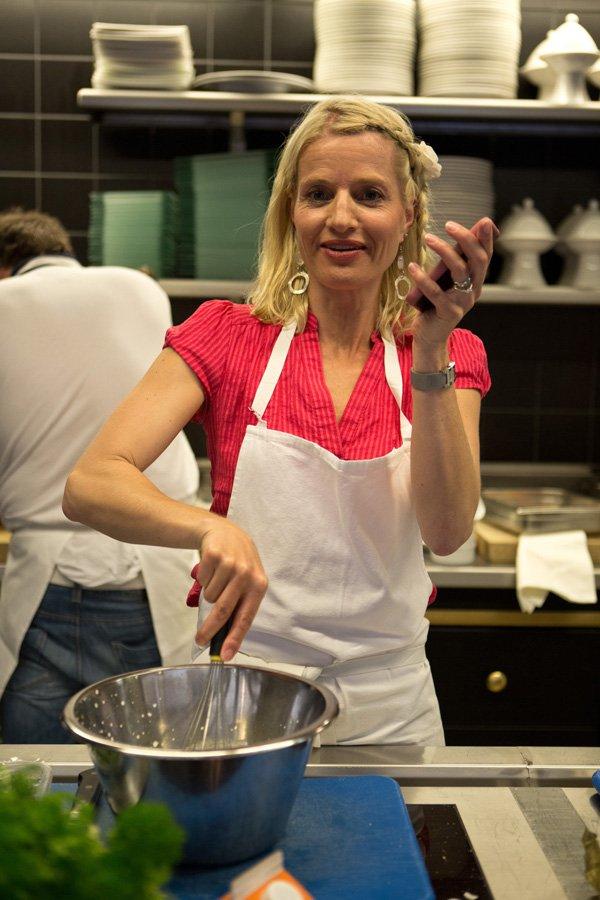 Med Strøm Torsk på restaurant Onda