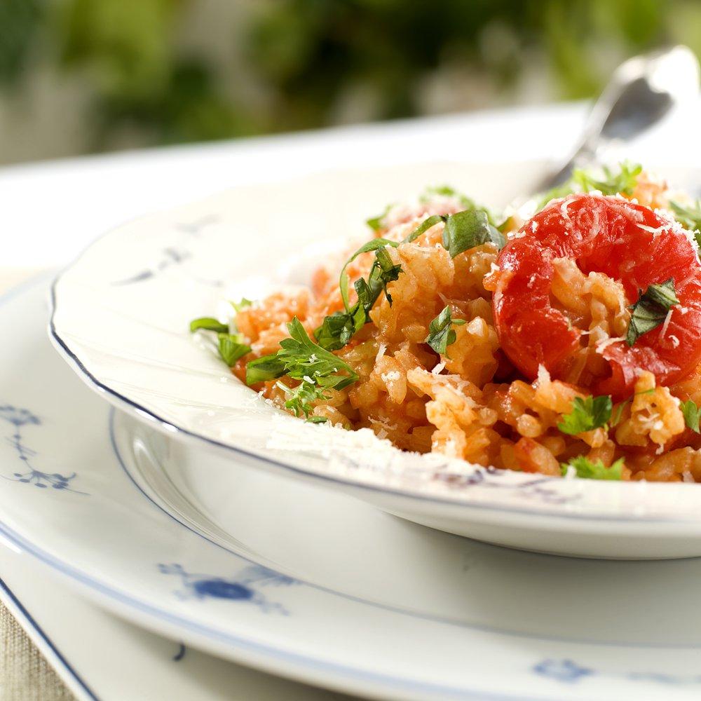 Lettvint risotto med paprika