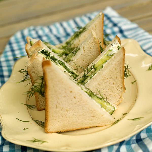 Agurksandwich