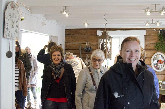 Boksignering på Inderøy Landhandleri