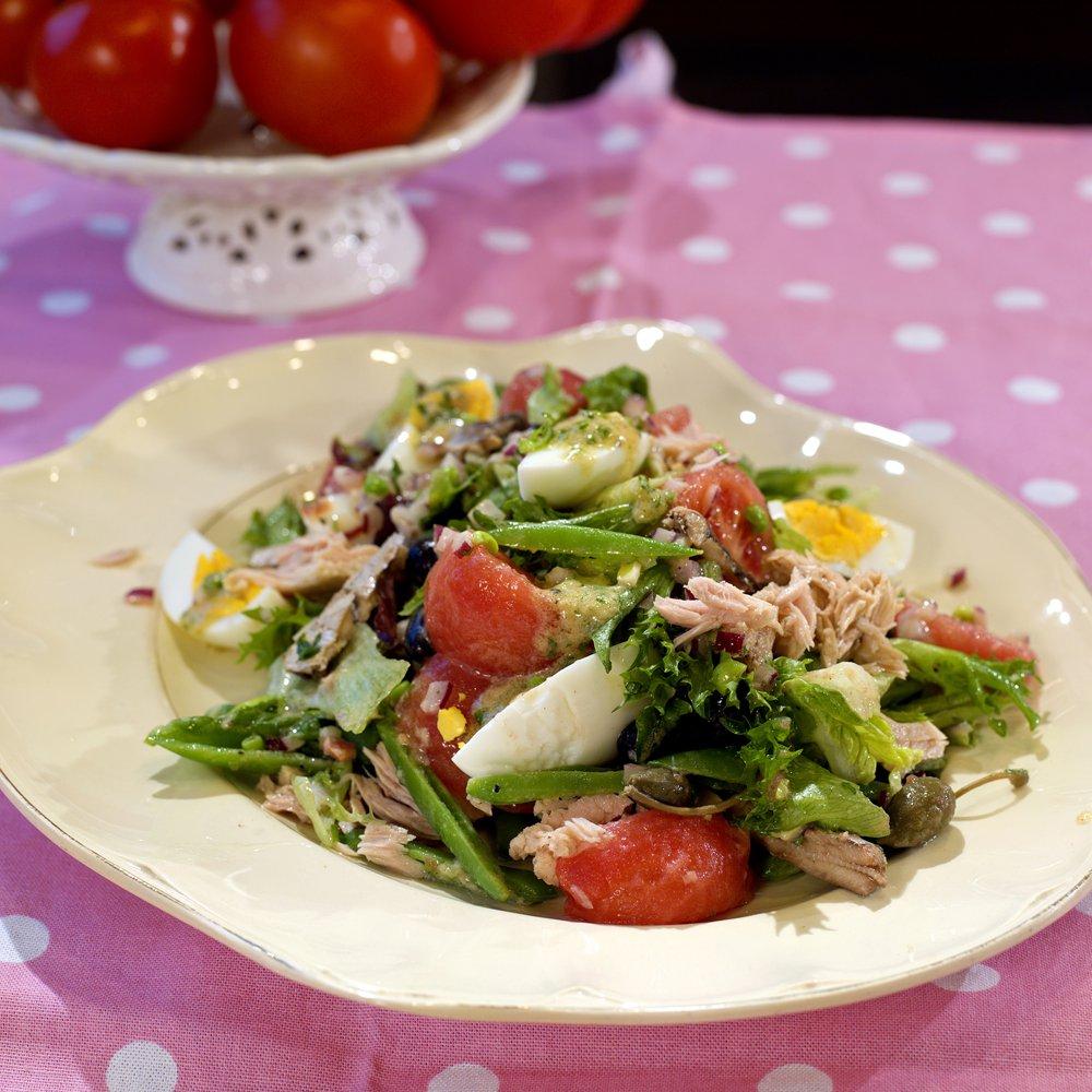 Deilig fransk salat