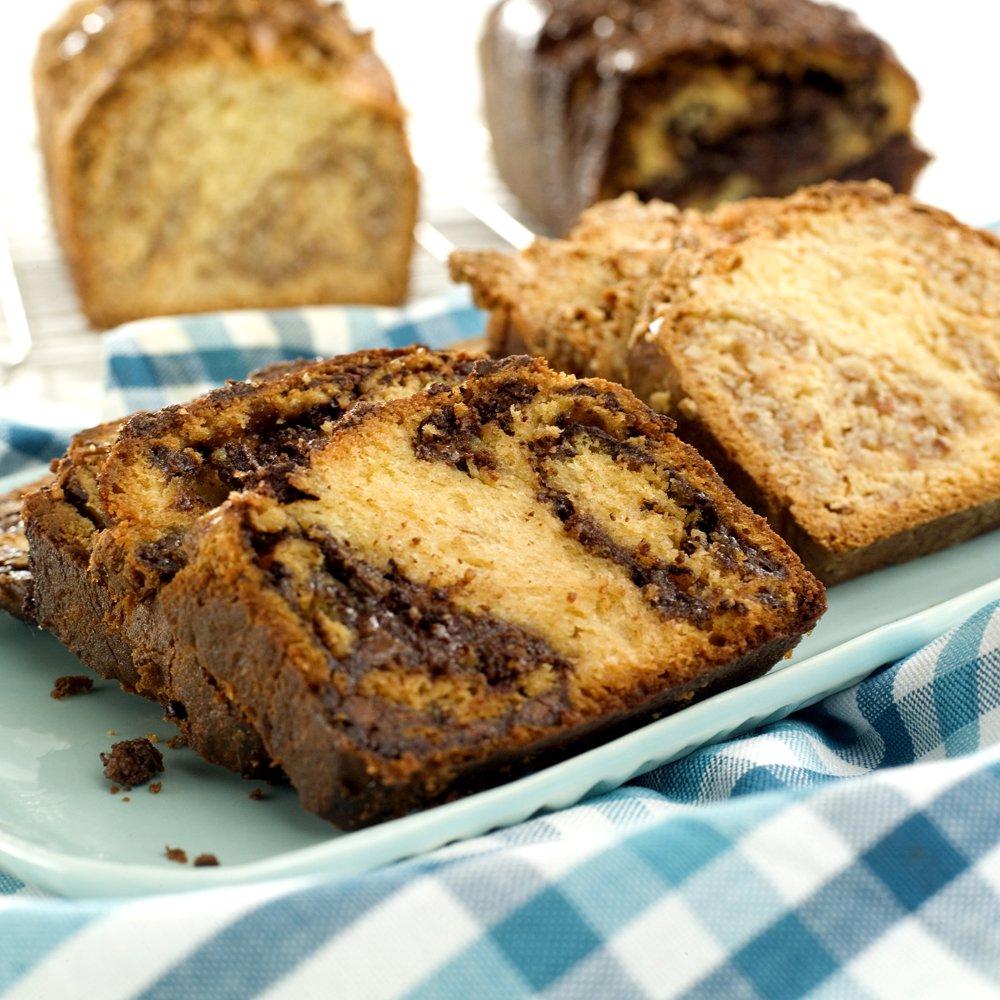 Fantastisk gode brød med sjokolade- eller mandelfyll