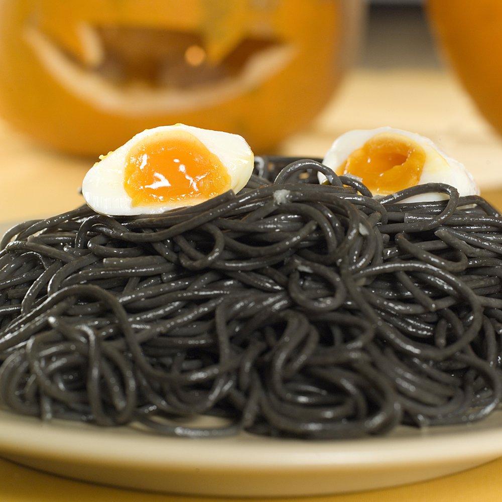 Svart spagetti