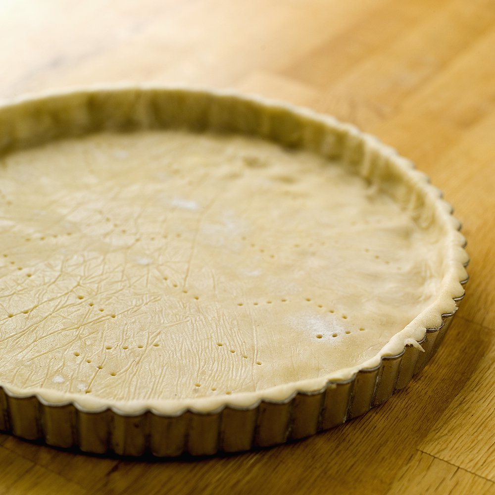Pai med ost og skinke