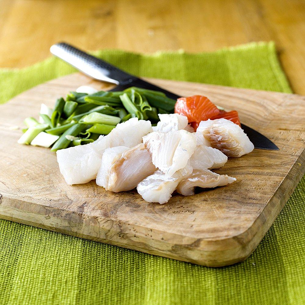 Rustikk fiskesuppe