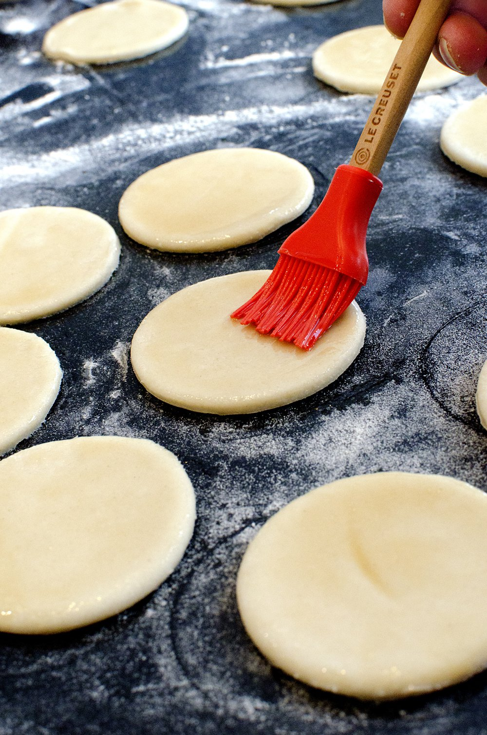 Pekingand i små pannekaker