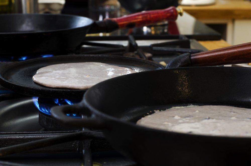 Hvordan lage grove pannekaker