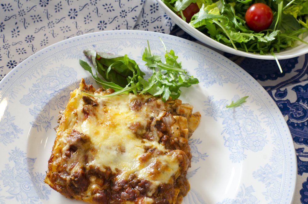 Hjemmelagd lasagne