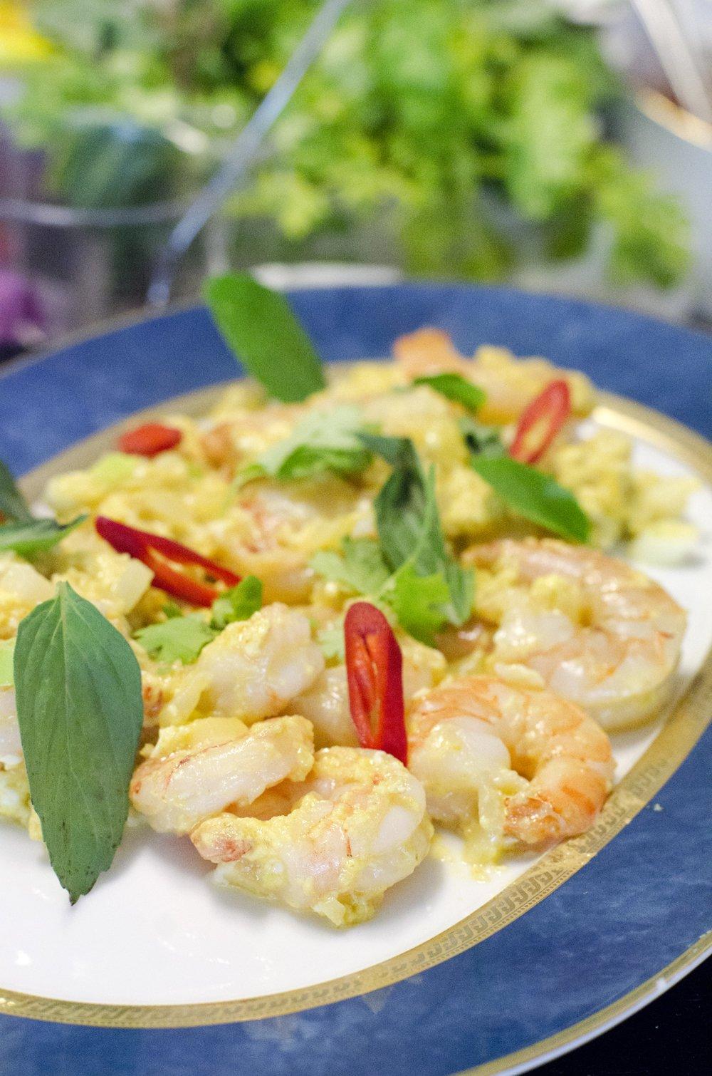 Duftende thailandsk matkurs