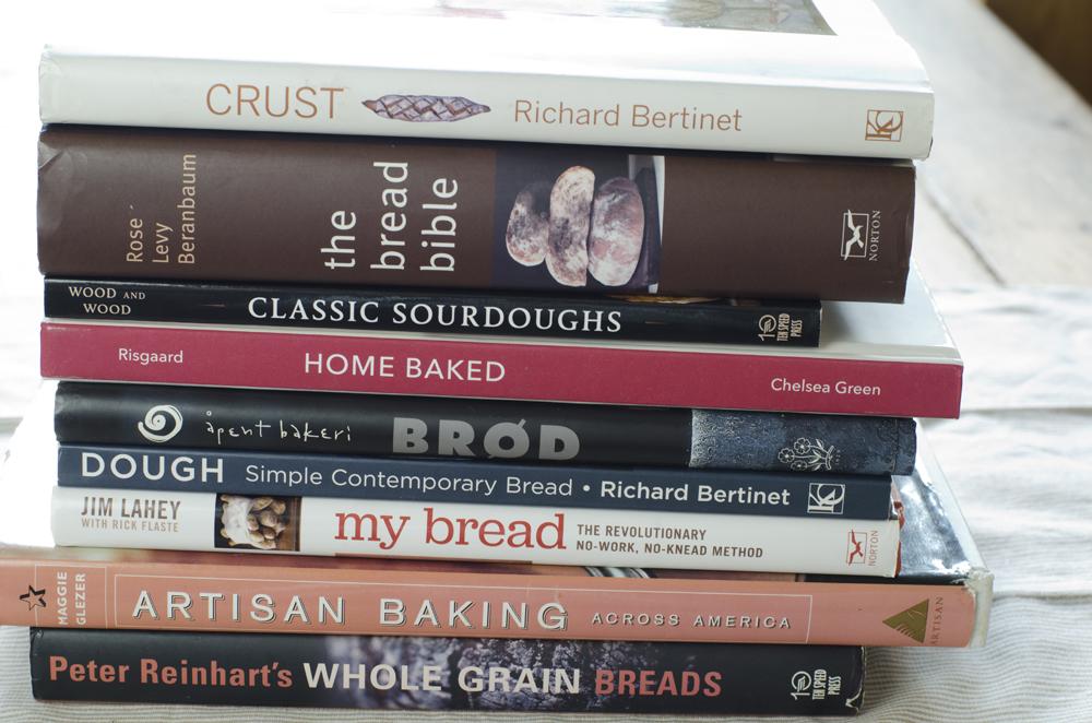 Bøker om surdeigsbakst