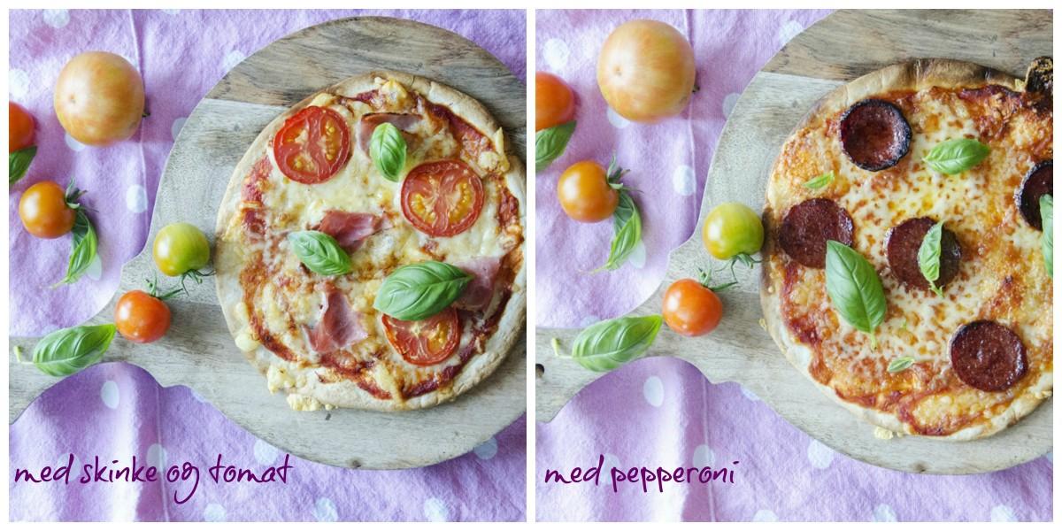 Pizza på noen minutter
