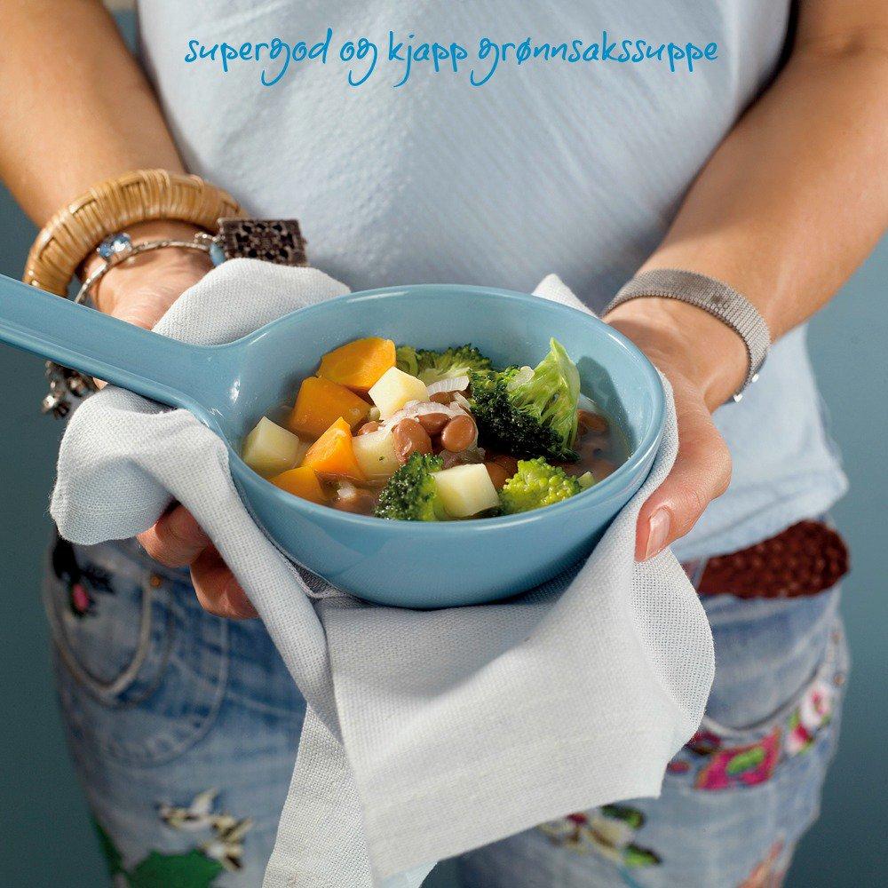 Kjapp grønnsakssuppe