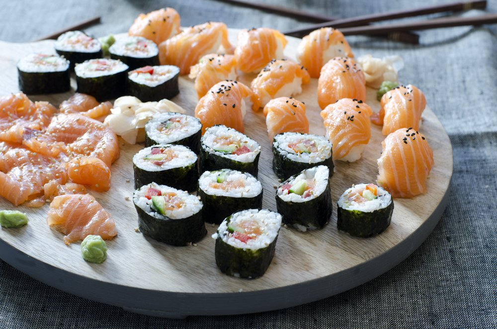 Sånn lager du din egen sushi!