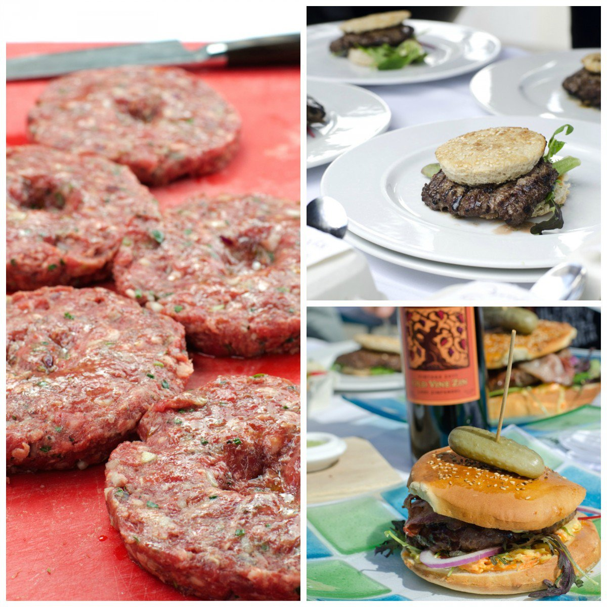 Hamburgere i lange baner!