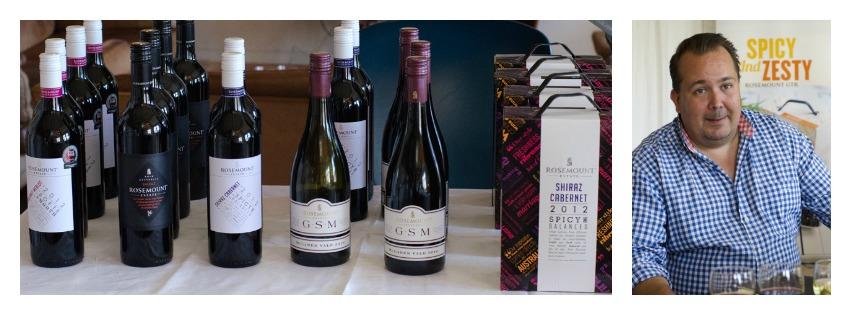 På vinsmaking med Rosemount