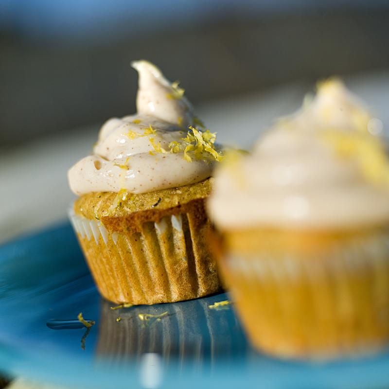 Saftige muffins med honning og squash