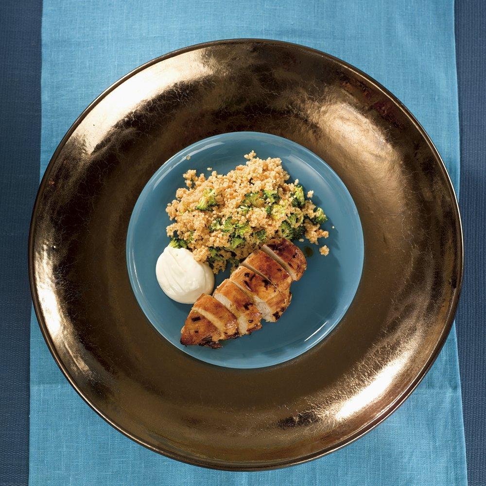 Marinert kylling med couscous