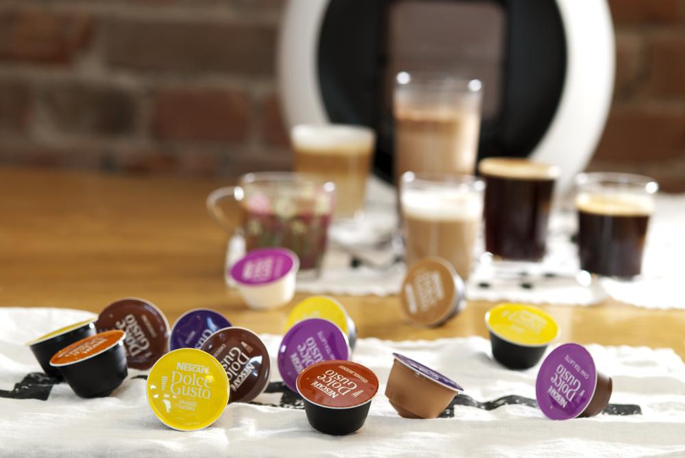 Vinn denne flotte kaffemaskinen fra Dolce Gusto!