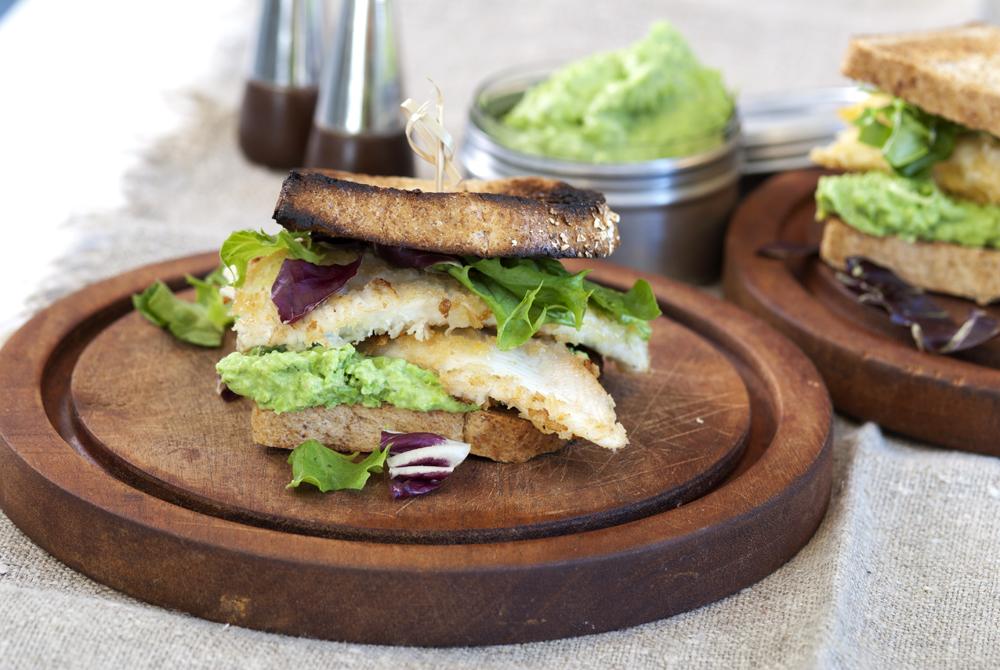 Supergod fiskesandwich