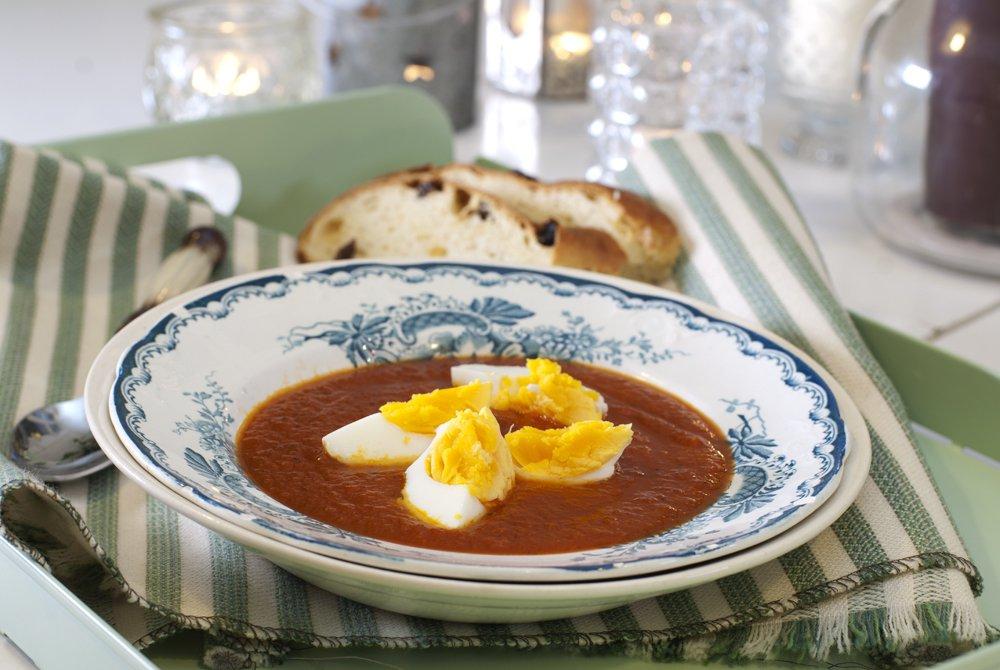 Den beste tomatsuppa